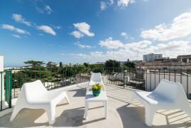Terrazza Blanca con vista panoramica