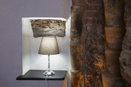 Wood and Stone Apartment in the center