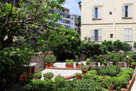 Appartamento con giardino a Mergellina