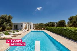 Villa Torre Guaceto con piscina