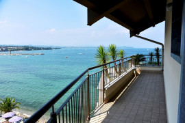 Residenza Miralago with pool - Penthouse with lake view
