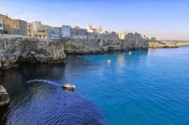 Gita in barca a Polignano a Mare