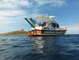 Tour del Golfo di Palermo in yacht vintage