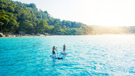 Sup experience with guide, from Paraggi to Portofino