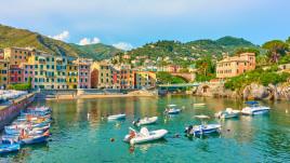 Tour in kayak e snorkeling al largo di Genova Nervi