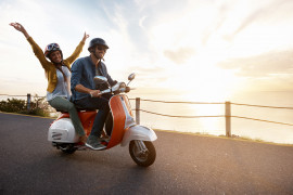 Amalfi coast tour by Vespa