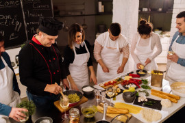 Pizza & Pasta cooking class a Napoli