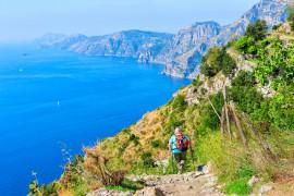 Hiking of Amalfi coast, the Path of the Gods