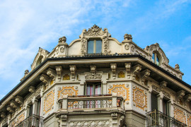 Italy's Liberty Capital, walking tour of Turin's belle époque details