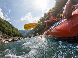Rafting Experience Piedmont or Aosta Valley