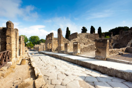 Pompeii Half Day with transfer from Naples