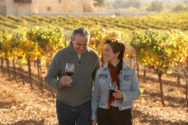 Wine tasting and winery tour in Noto Valley
