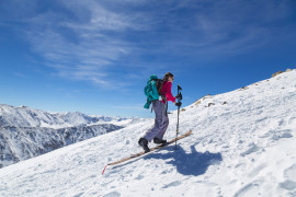 Mountaineering in Sestriere with a mountain guide