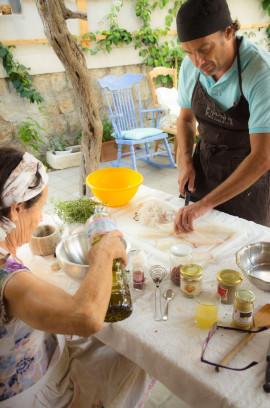 Cooking class near the sea in Santa Flavia