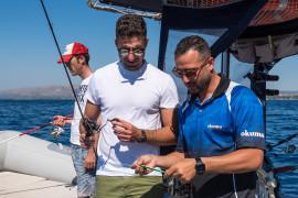 Giornata di pesca esperta con Toni a Siracusa