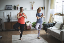 Private yoga at home Naples