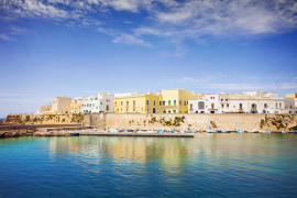 Guided tour of Gallipoli and oil-mill visit, lunch in Lecce, lunch in Lecce and walking tour with transfer from Ostuni (group tour)