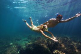 Snorkeling experience Paraggi Bay