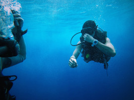 Scuba diving for beginners in the Plemmirio Marine Reserve