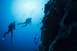 Scuba diving Plemmirio for experts with license