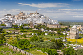 Walking tour of Ostuni, the white town
