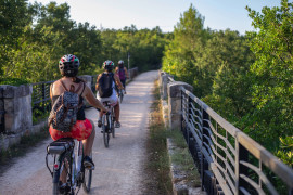 Cycling on the Apulian aqueduct with transfer from Ostuni