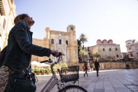 Bike tour of downtown Palermo