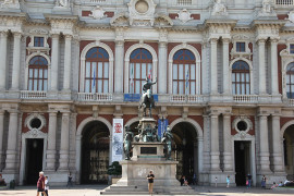 First Italian Parliament and Museum of Risorgimento in Turin