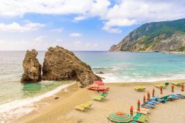 Le spiagge sabbiose in Liguria