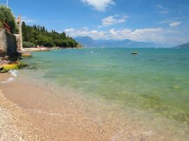 Public beaches on Lake Garda