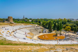 Classical plays at the Greek Theater in Siracusa
