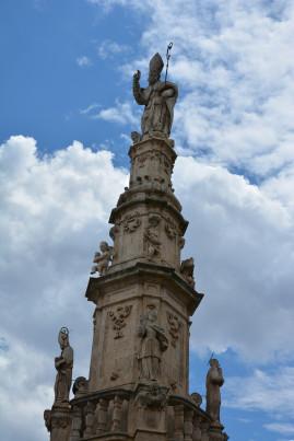 Piazza della Libertà a Ostuni