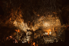 The caves of Castellana between Bari and Brindisi