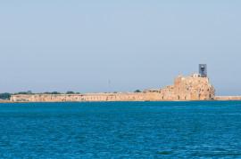 Il Castello Svevo a Brindisi